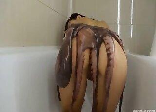 Asian Octopus Porn
